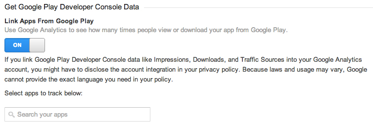 Analytics para Android