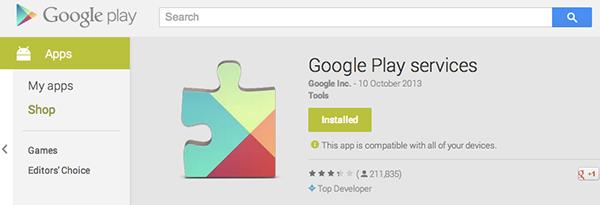 how to trim google play service